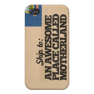 Ship me to Idaho Cover For iPhone 4