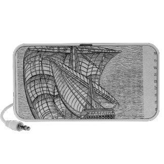 Ship of Columbus Time Mp3 Speaker