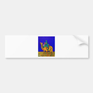 Ship of the Desert by Piliero Bumper Sticker