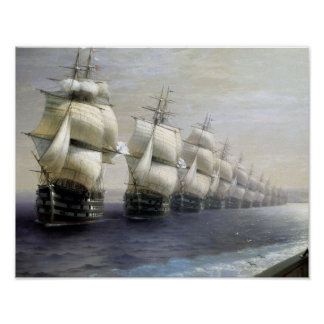 Ship On The Line Poster