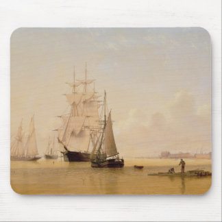 Ship Painting (oil on canvas) 2 Mouse Pad
