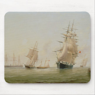 Ship Painting (oil on canvas) Mouse Mat