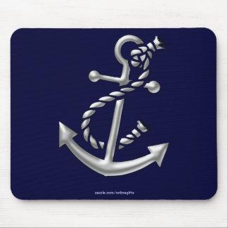 Ship s Anchor Nautical Marine-Themed Gift Mousepad