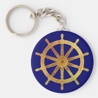 Ship's Helm Keychains