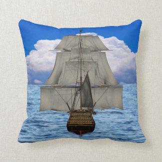 Ship sailing cushion