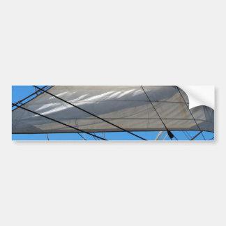 Ship Sails Background Background Bumper Sticker