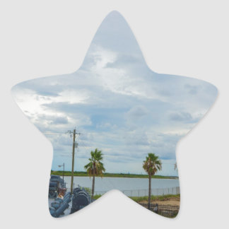 Ship Star Sticker