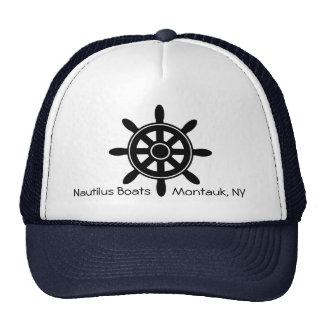 Ship Steering Wheel Nautical Boat Business Hat