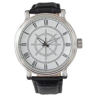 Ship Steering Wheel Watch