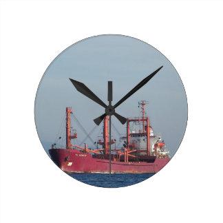 Ship TK VENICE Round Clock