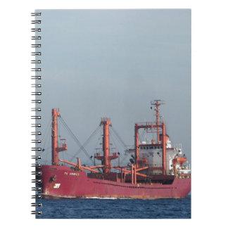 Ship TK VENICE Spiral Notebook