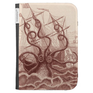 ship vs. octopus kindle cover