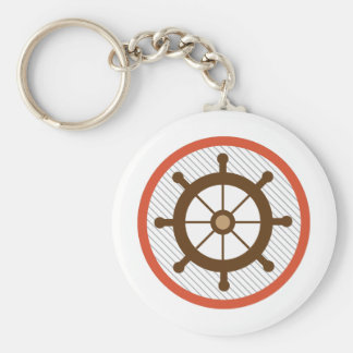 Ship Wheel Keychains