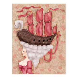 Ship Wig Postcards