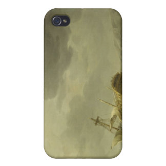 Ship Wrecked on a Rocky Coast, c.1747-50 (oil on c iPhone 4/4S Case