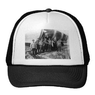 Shipbuilders in Marine City Michigan Vintage Cap