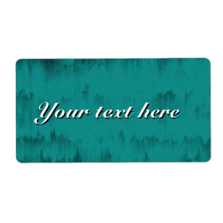 Shipiping labels with teal grunge texture