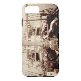 Shipping Cattle on the 'W.G. Hall', Hawaii, 1890s iPhone 8/7 Case