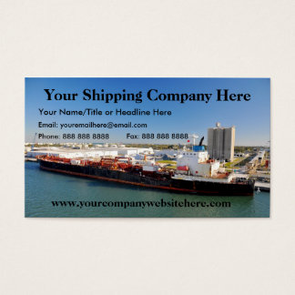 Shipping Company Business Card