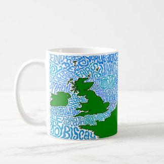 Shipping Forcast Mug