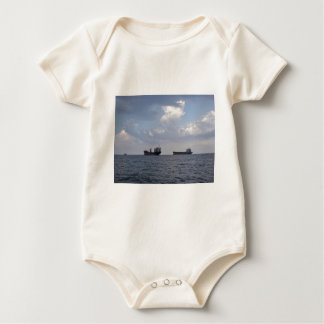 Shipping In The Black Sea Baby Bodysuit