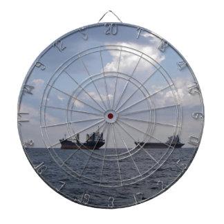 Shipping In The Black Sea Dartboard
