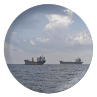 Shipping In The Black Sea Plate
