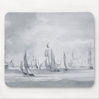 Shipping in the Thames Mouse Mat