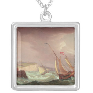 Shipping off Dover Silver Plated Necklace