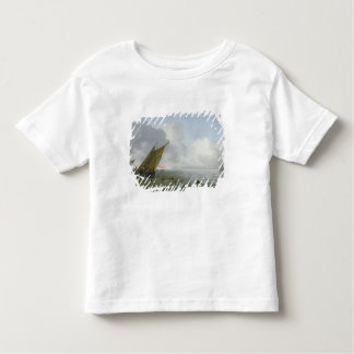 Shipping Offshore in a breeze, 17th century T-shirt