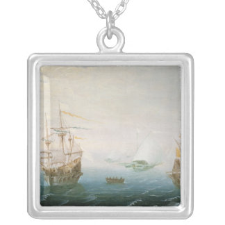 Shipping on Stormy Seas Silver Plated Necklace