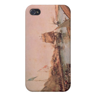 Shipping on the Suez Canal iPhone 4 Cover