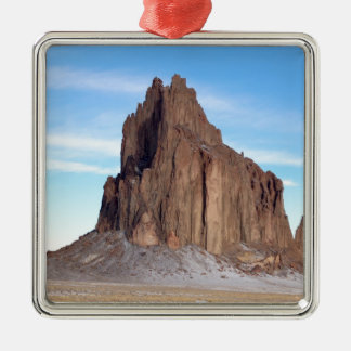 Shiprock Mountain, New Mexico Christmas Ornament
