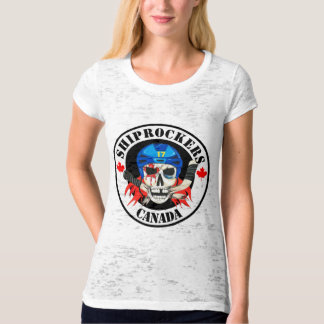 Shiprockers Canada Ladies T-Shirt
