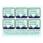 Ships Ahoy Mate Baby Shower Favour Tags