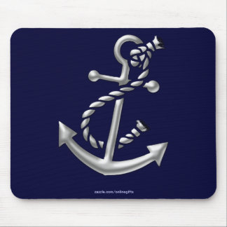 Ship's Anchor Nautical Marine-Themed Gift Mouse Mat