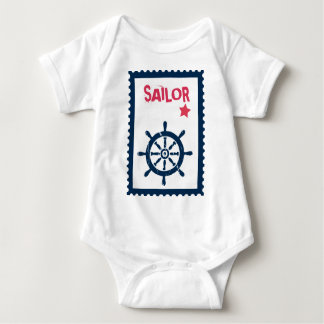 Ship's Anchor - Nautical Ship Anchors Baby Bodysuit