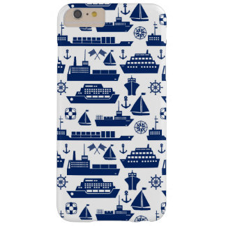 Ships And Boats At Sea Pattern Barely There iPhone 6 Plus Case