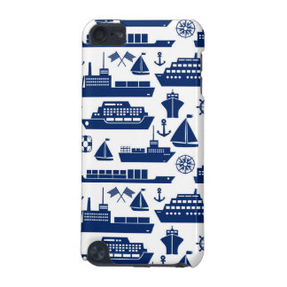Ships And Boats At Sea Pattern iPod Touch (5th Generation) Case