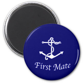 Ships First Mate Magnet