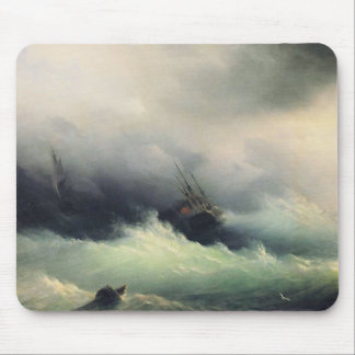 Ships in a Storm Mousepad