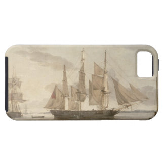 Ships in Harbour, 1805 (oil on canvas) iPhone 5 Covers