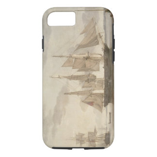Ships in Harbour, 1805 (oil on canvas) iPhone 8/7 Case