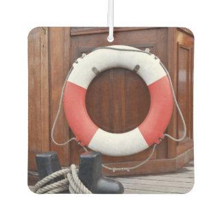 Ships Lifebelt Car Air Freshener
