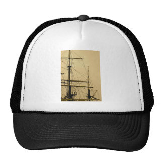 Ships mast cap