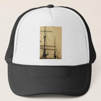 Ships mast trucker hat