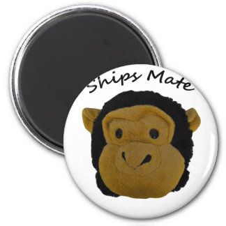 Ships Mate 6 Cm Round Magnet