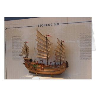 Ships of World Explorers, Tscheng Ho Card