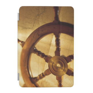 Ship'S Wheel And Map iPad Mini Cover