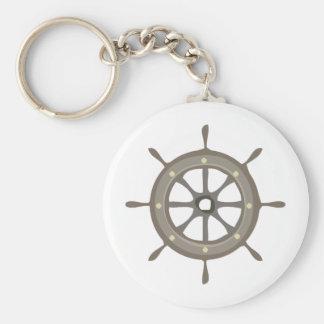 Ships Wheel Key Chain